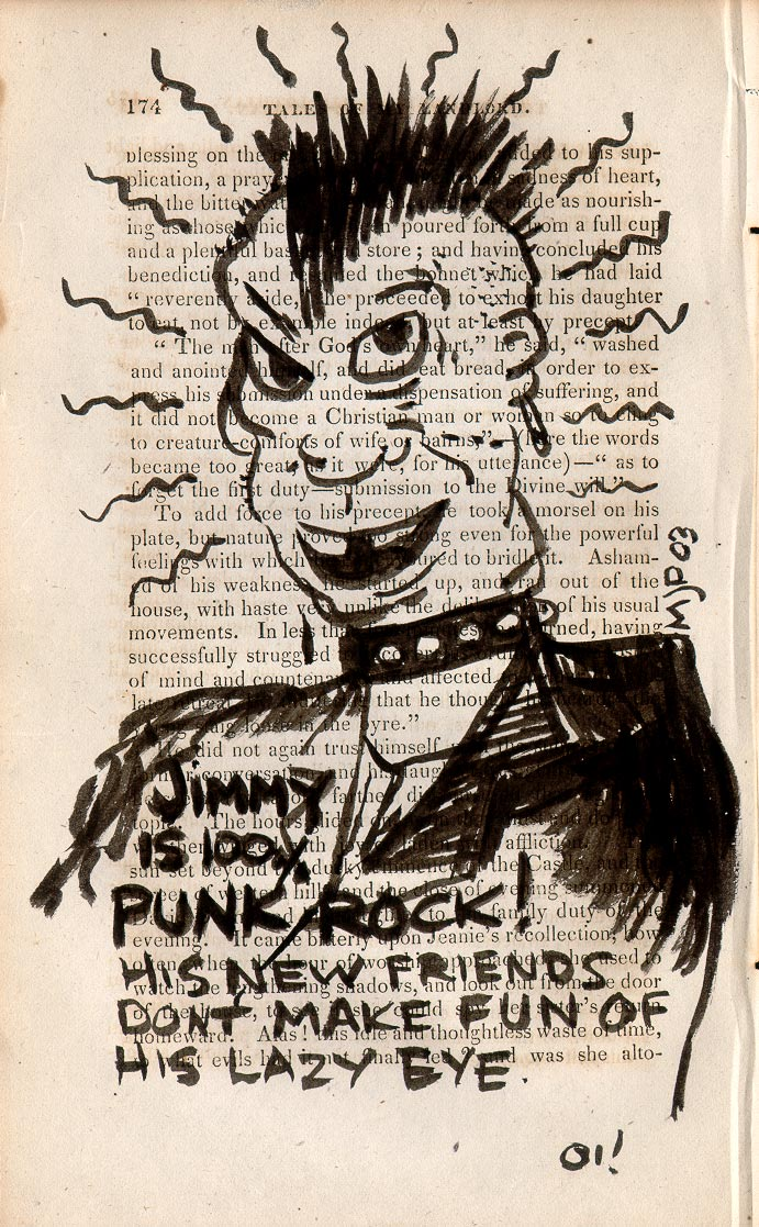 Jimmy is 100% punk rock!