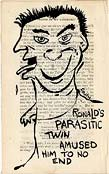 Ronald's parasitic twin amused him to no end
